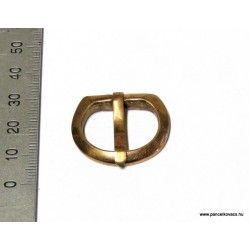 D shape buckle