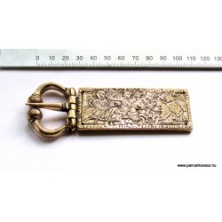 knightly girdle buckle from Kígyóspuszta